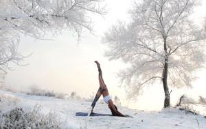 yoga-neige