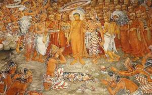 Bouddha parle à Kalama