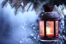 Lampe de Noël