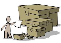 Archives carton